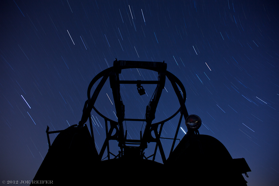 Star catching device silhouette -- by Joe Reifer