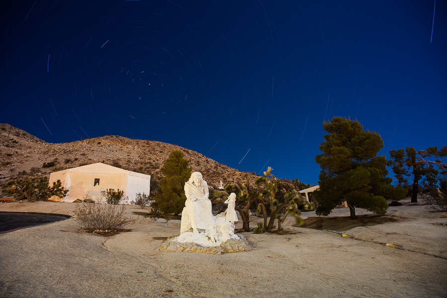 Desert Christ Park -- by Joe Reifer