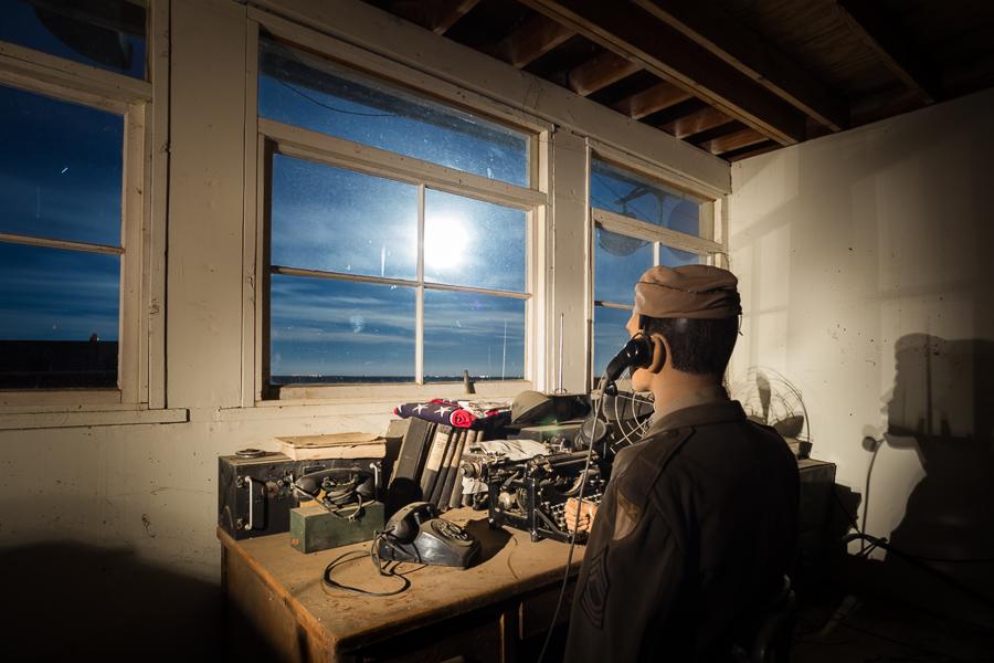 Radio Room moonrise or UFO sighting #2