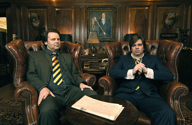 Rich Fulcher and Matt Berry in Snuff Box