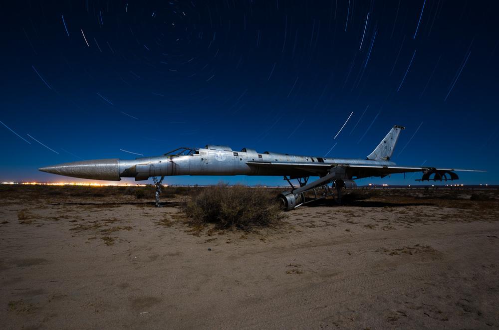 Desert bomber - side view