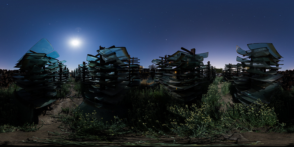 Valley Junkyard - Explore one of the Central Valley's most amazing junkyards under a full moon.