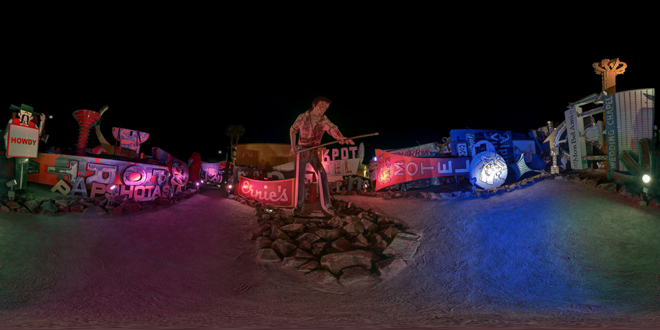 Las Vegas Neon Museum 360 Night Tour