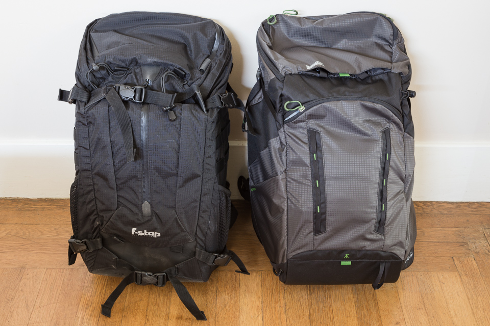 f-stop Loka and MindShift Gear Rotation 180 Horizon photography backpacks