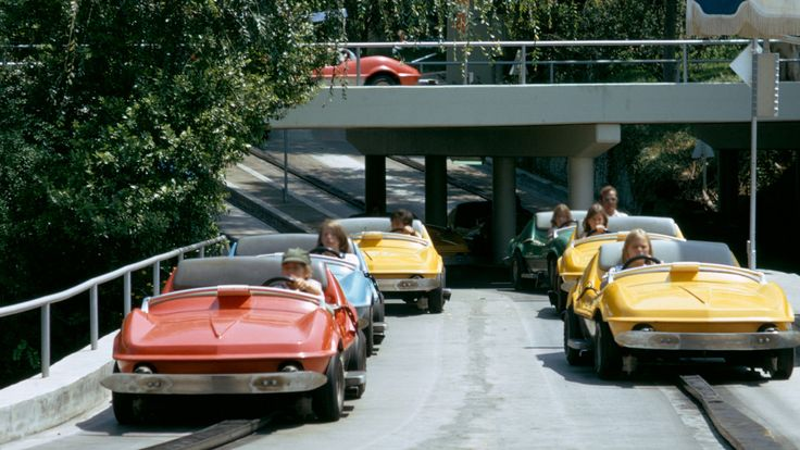 I blame it on Autopia. I've always love driving.