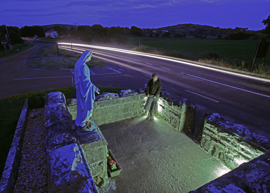 BVM sighting on the N59, County Mayo, Ireland