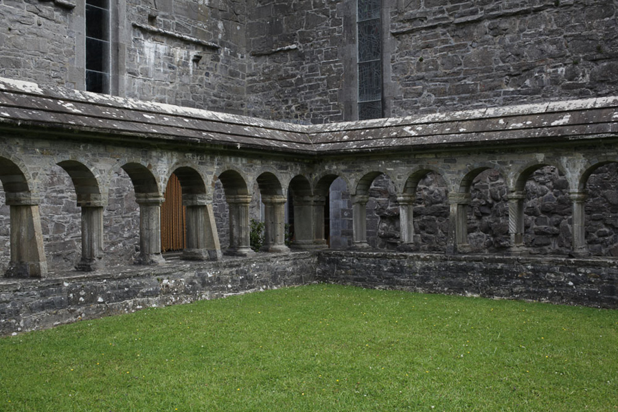 Ballintubber Abbey, door, County Mayo, Ireland