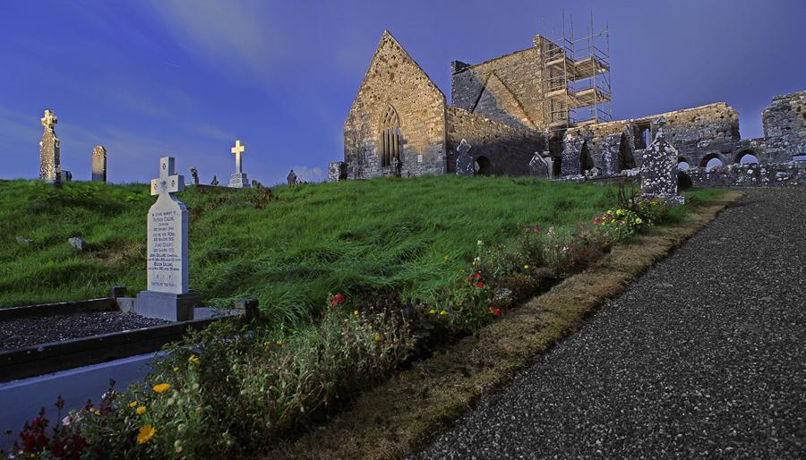 Burrishoole Friary, Newport, County Mayo, Ireland