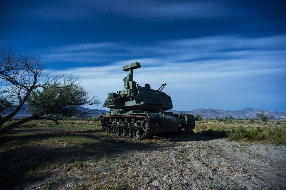 Tank 3am -- by Joe Reifer