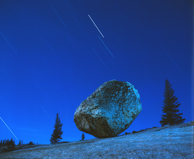 Steve's Rock, Tioga Pass, Yosemite National Park, 1981