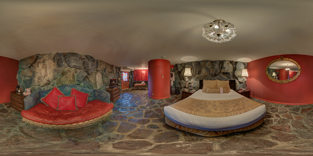 Madonna Inn Room #135 - Swiss Rock