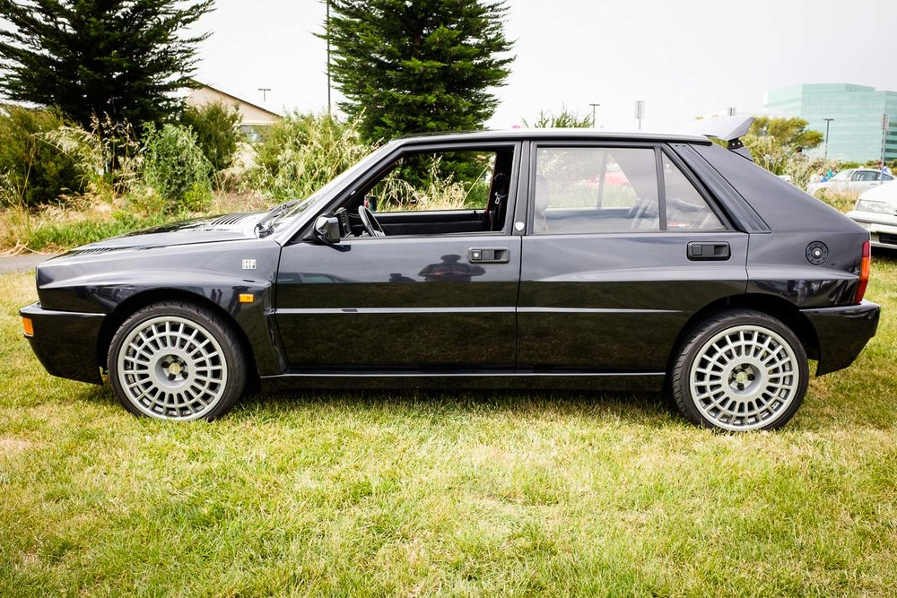 Lancia Delta Integrale owned by Bring a Trailer.