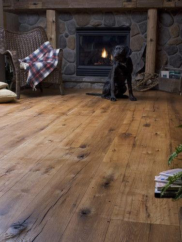 Photo by     Heritage Wide Plank Flooring