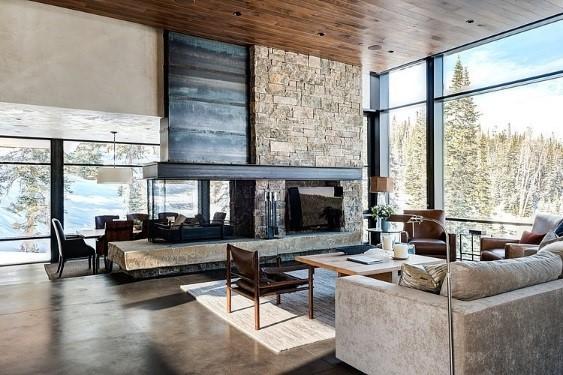 Merveilleux Modern Cabin Interiors