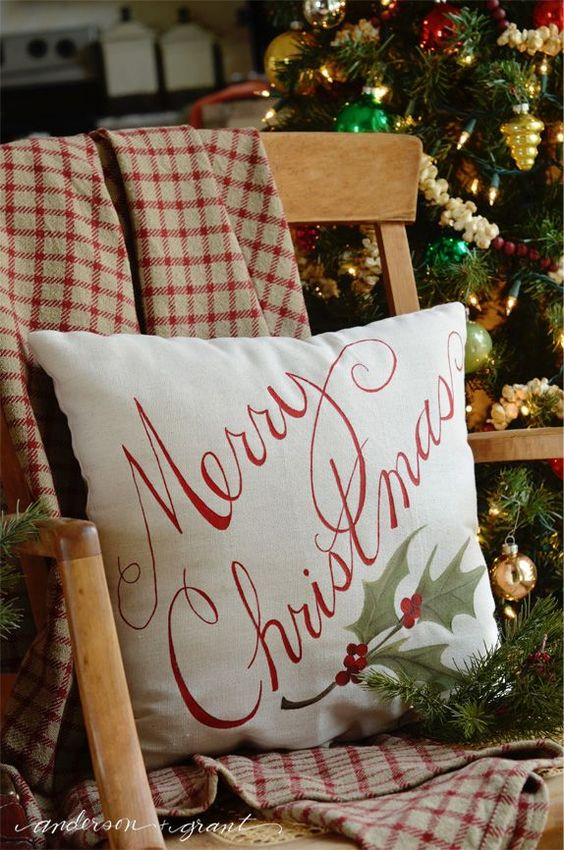 Cabin Christmas pillows.jpg