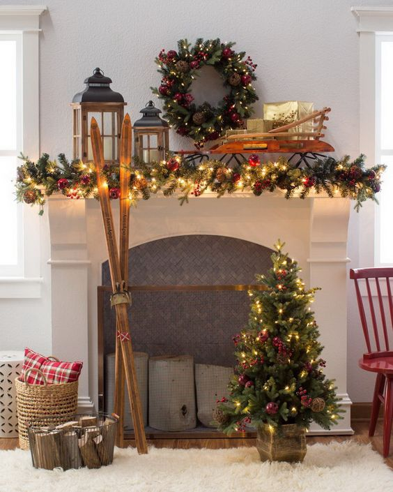 Christmas cabin fireplace wreath.jpg