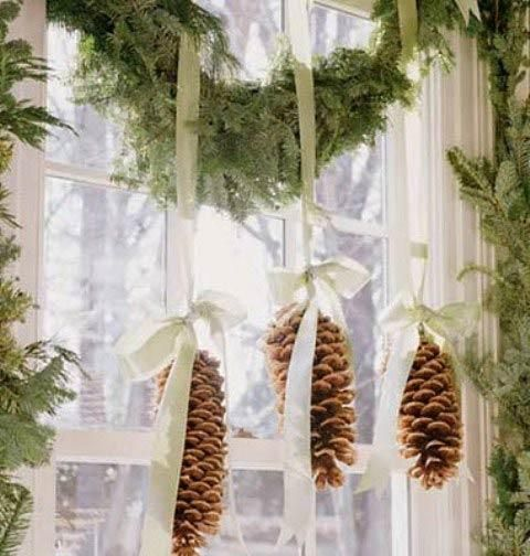 Christmas cabin garland on window.jpg