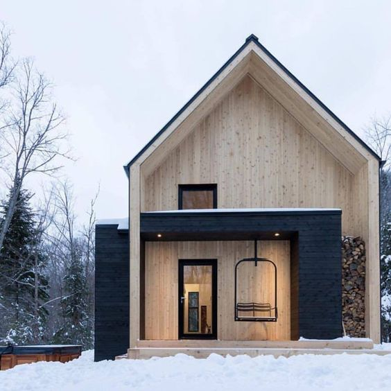 Scandinavian cabin, architecture, cabin, architect, home design
