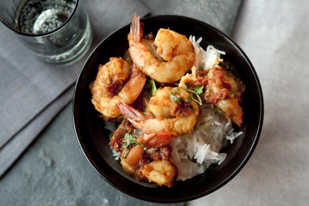Shrimp patia