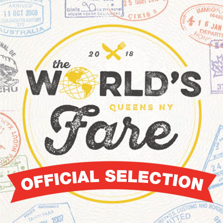 Served Indian street food and masala tacos at the World's Fare on April 28-29, 2018