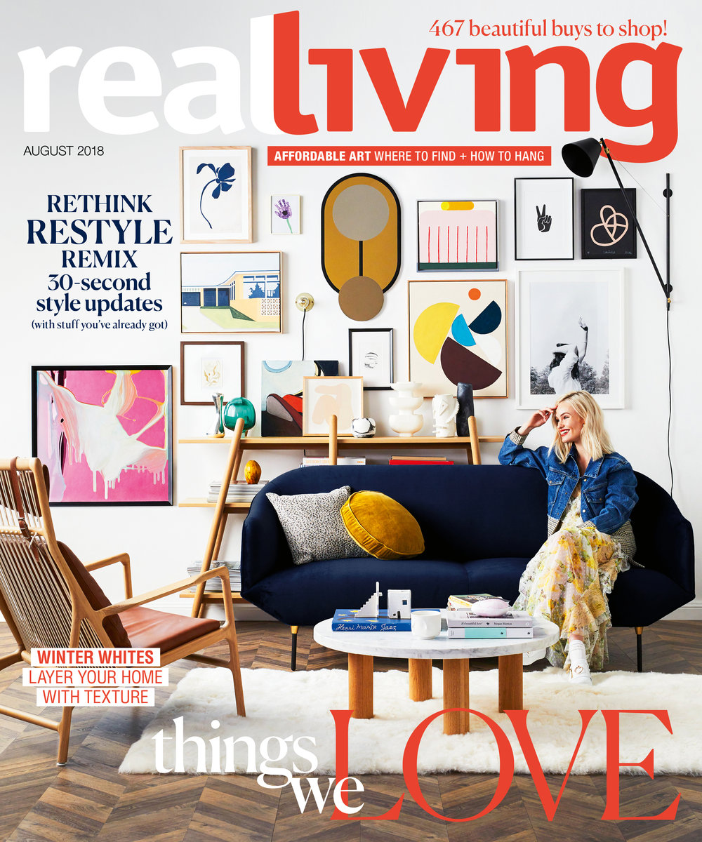 kerrie-ann jones real living august cover