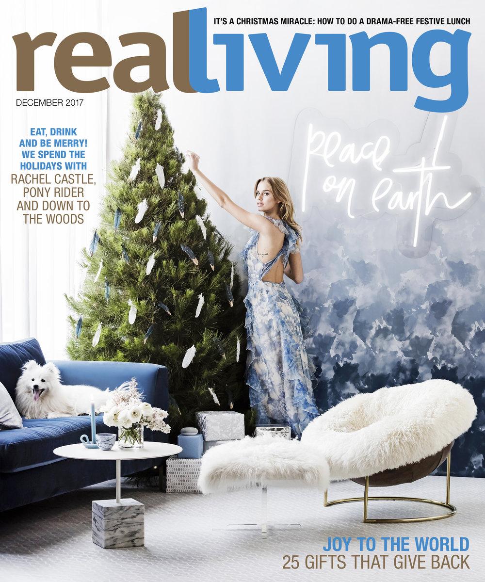 kerrie-ann jones real living december cover
