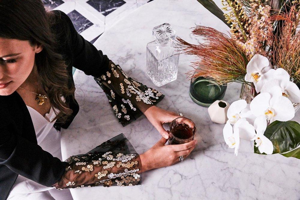 Kerrie-Ann Jones Real Living August glamour