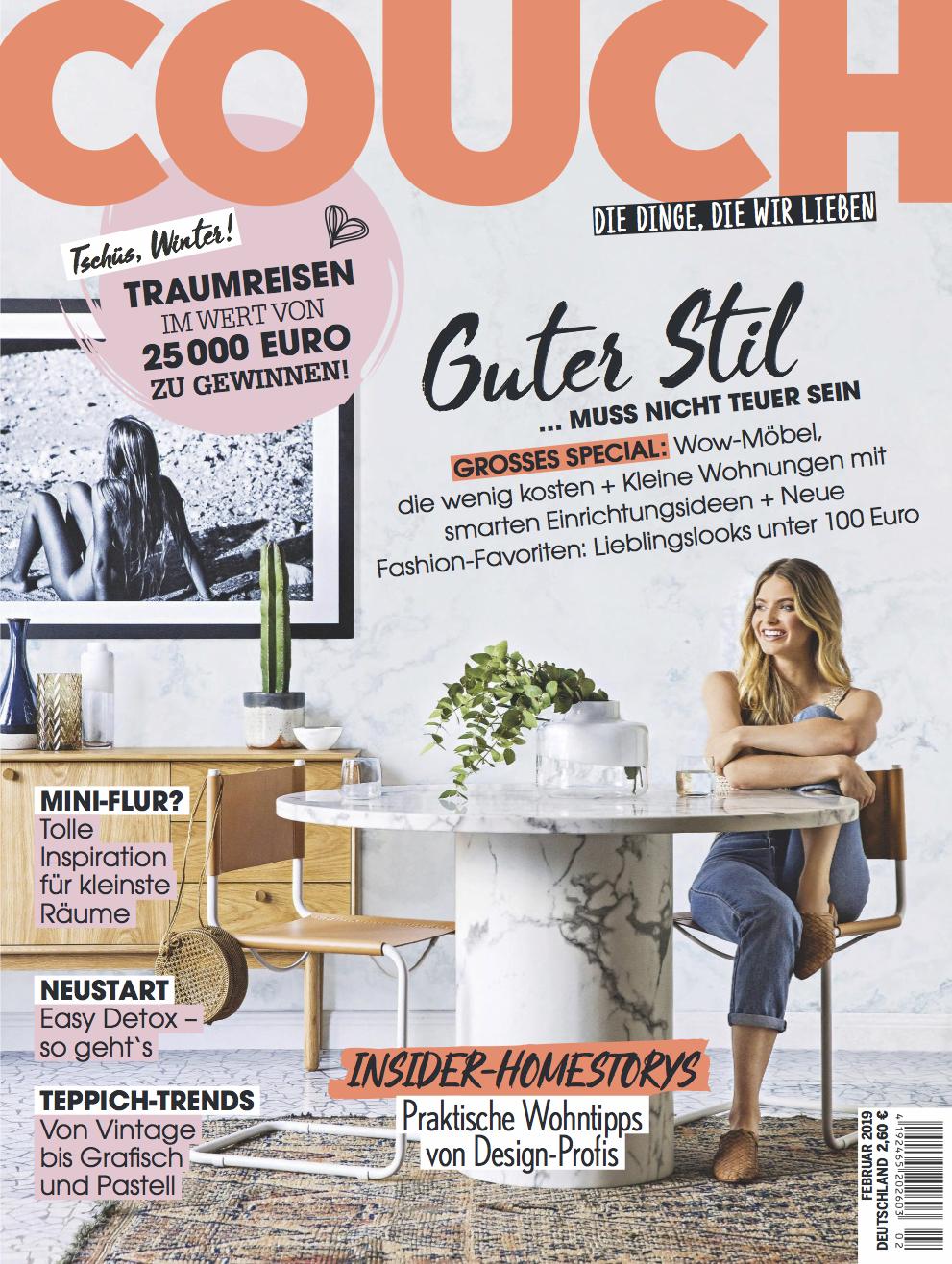 Kerrie-Ann Jones Couch magazine cover