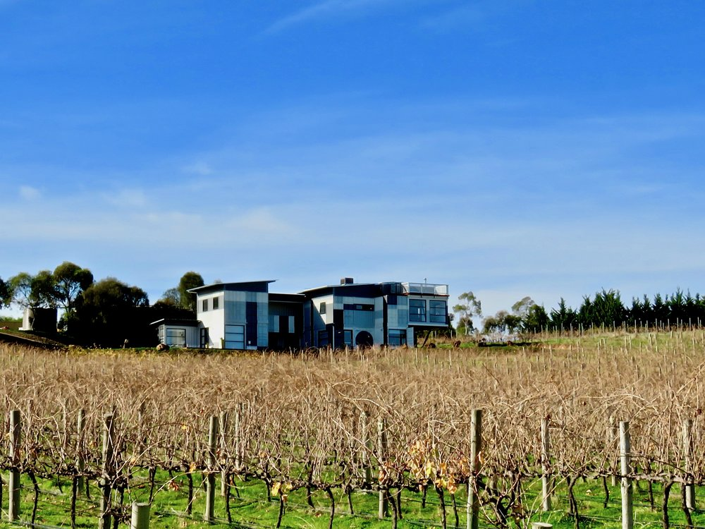 Hotel California Road best top luxury accommodation McLaren Vale winery vineyard Inkwell Wines Dub Style Wines Dudley Brown Irina Santiago-Brown Dudley and Irina sustainable shipping container hotel 1.jpg