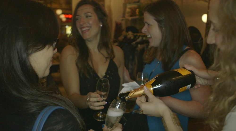 Dress to Manifest-- The Mionetto Prosecco Was Flowing!