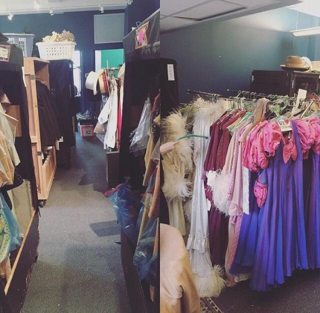Wardrobe at Big League Productions 42nd Street