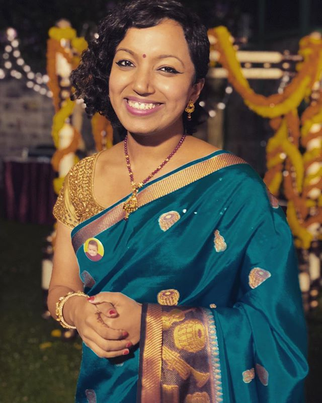 After a super crazy and packed tour of India visiting Chennai, Thiruvananthapuram, Bangalore, and Ooty, all within 10 days, experiencing 4 different weathers, getting my O-1 visa stamped, attending my childhood bestie's wedding, and getting this photo clicked there by the incredible @shwethajit I AM NOW BACK ON NEW YORK SOIL. It's time to work. #grateful #timetraveler #iphonex  #portraitmode #jetlaggedaf