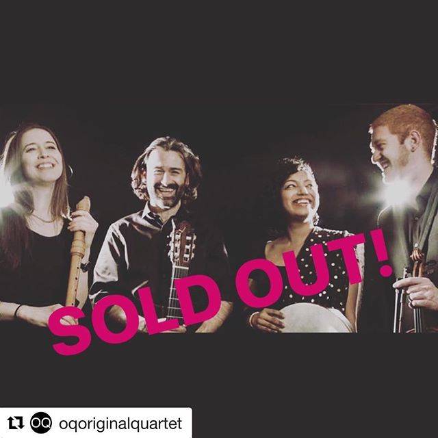 Playing in DC with my beautiful group @oqoriginalquartet on Tuesday, May 8. Wooohoooo and it's #soldout baby! See you soon, DC heads! #oq #indiansoul #diaryofagypsy #musicianlife #washingtondc