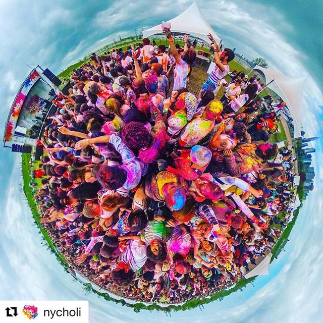 Less than two weeks away from playing at @nycholi Nyc Holi Hai - Spring Colour Festival, on Saturday, May 12, at Governors Island. Come through and experience the love and fun that is #holi #musicianlife #Indiansoul #nycholi #colorsofnewyork #colorsofdiversity