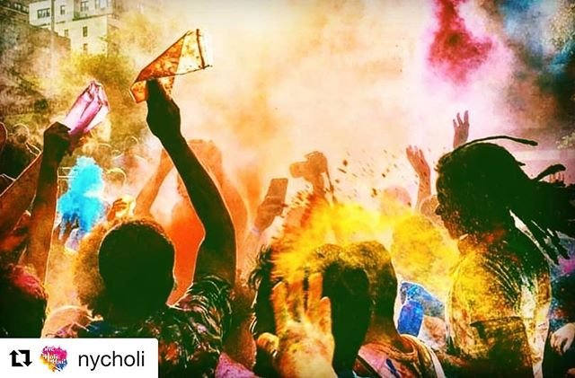 Back in New York, and can't wait to play TOMORROW Saturday, May 12, at 12pm for @nycholi NYC Holi Hai Spring Colour Festival at @governorsisland with @sanjoy_karmakar @taka808 @itsaimannnn And @bobspellman LESGOOO! #musicianlife #indiansoul #artistsoninstagram #nycholi #colorsofnewyork #colorsofdiversity