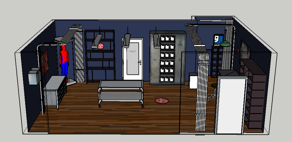 Set Design for Client Approval