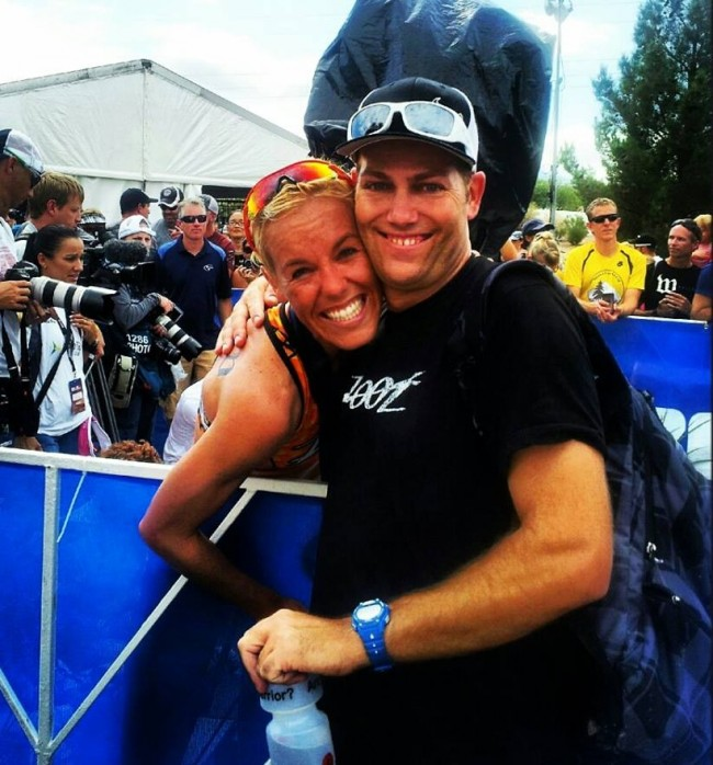 Cliff and I at the finish!