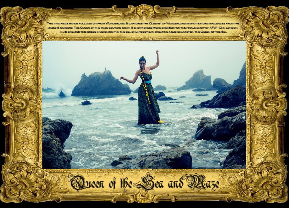 QUEEN OF THE MAZE & SEA
