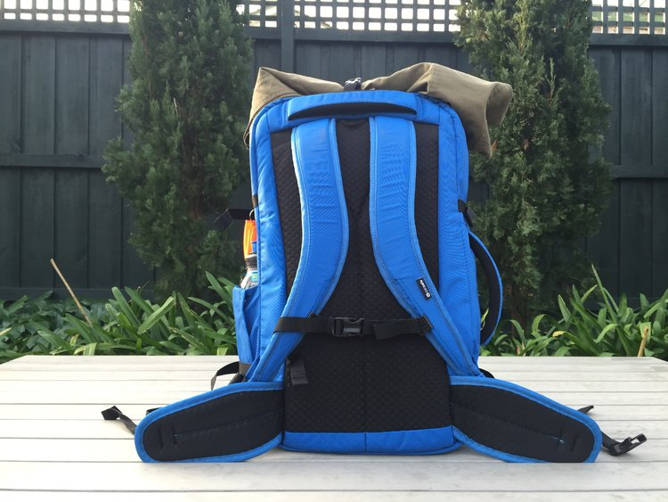 be64672b89da The Pacsafe Venturesafe 45L 45EXP anti-theft travel pack has stowable  straps should you decide