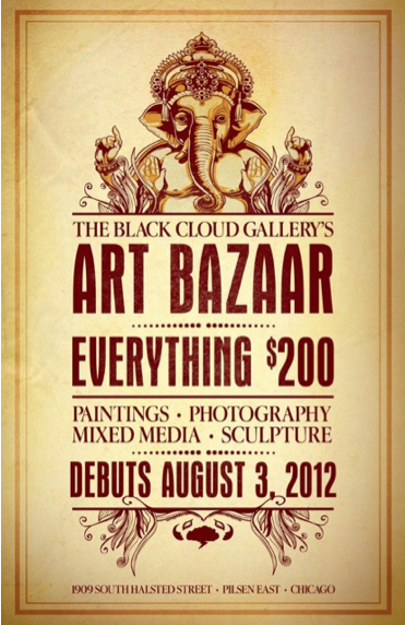 Art Bazaar at Black Cloud Gallery