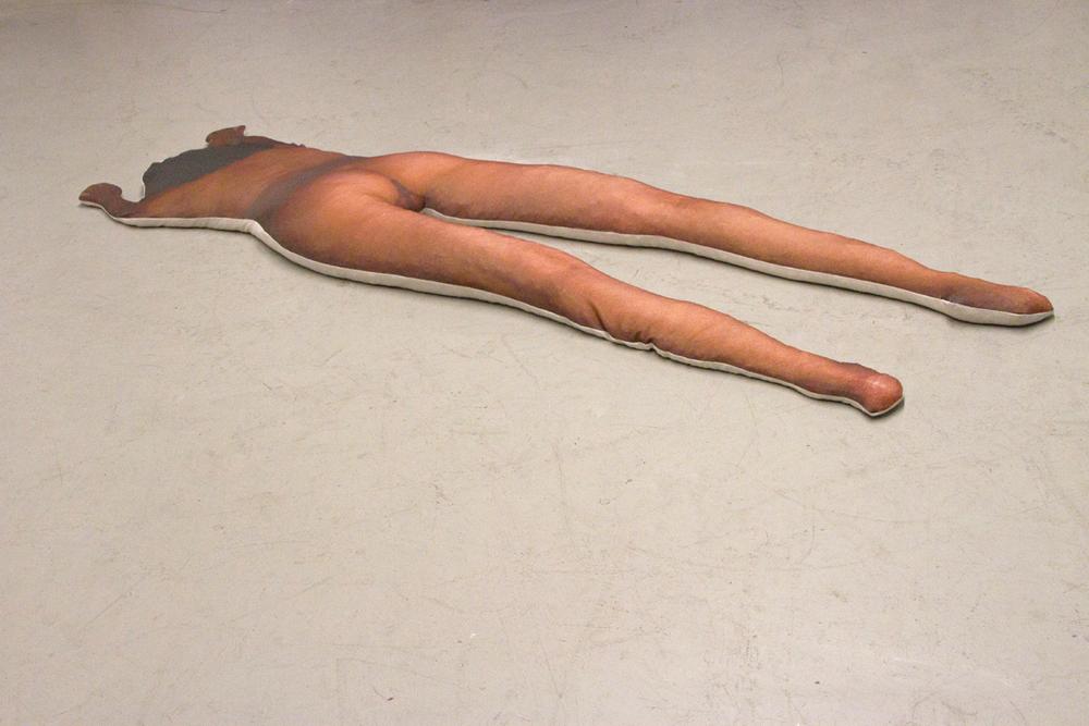 Self-portrait: Lying, 2011