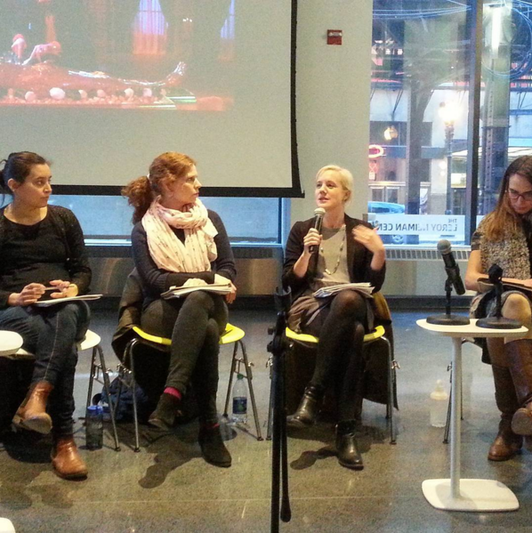 Tonight's panel discussion with  In the Rifts of Winter  artists.