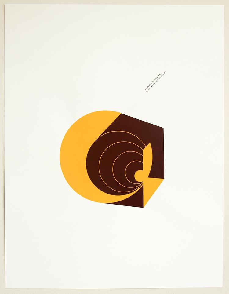 binarios (Dialéctica)-2014 Serigrafia dos colores Dimensiones w:45cm h:60cm Serie de 7 $70.000.-