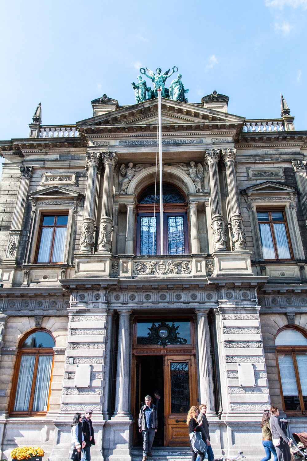 The Teylers Museum...