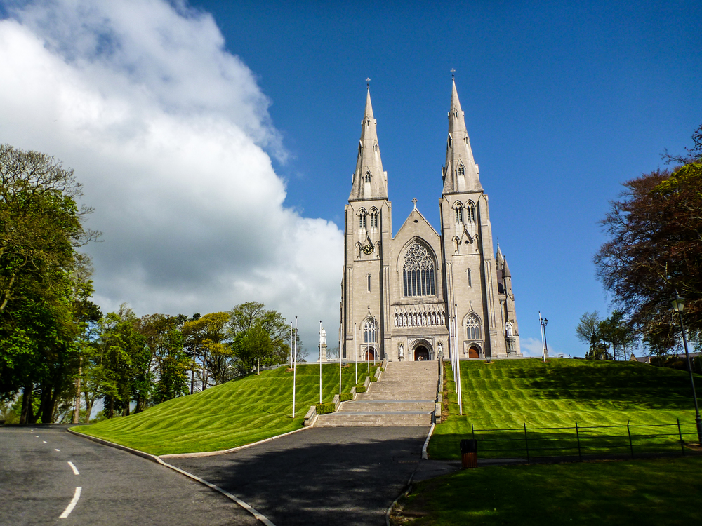 St. Patrick's Cathedral  in Armagh. I stopped here on my way out of town