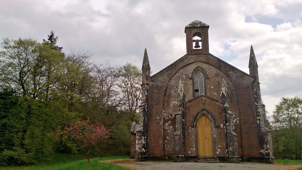 This church was in the middle of nowhere. Mullaghfad Church.