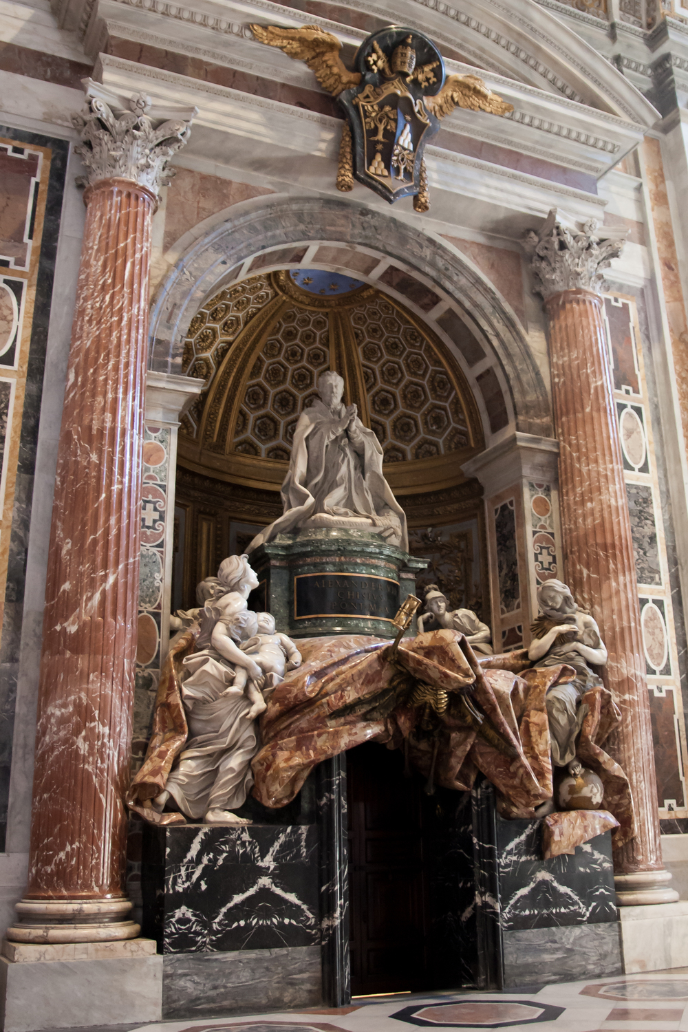 Funerary Monument to Pope Alexander VII