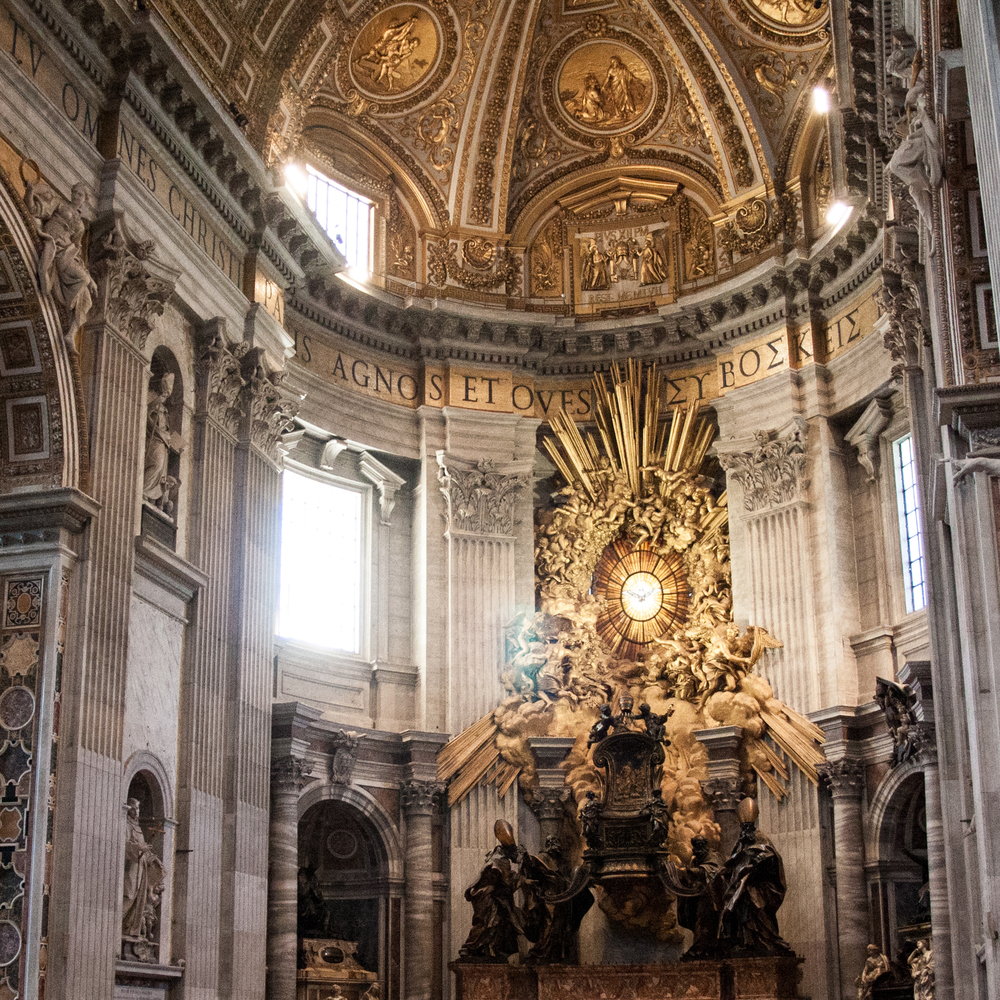 Monument of the Cathedra of St. Peter