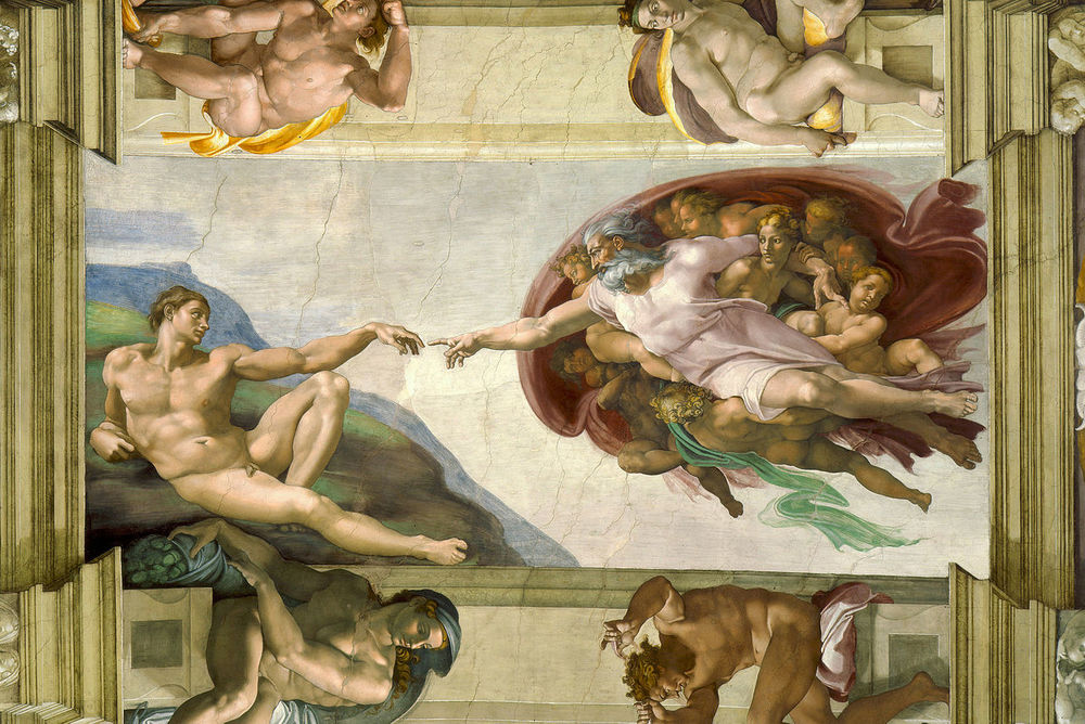 The Creation of Adam (Michelangelo) Photo credit: Wikipedia Commons