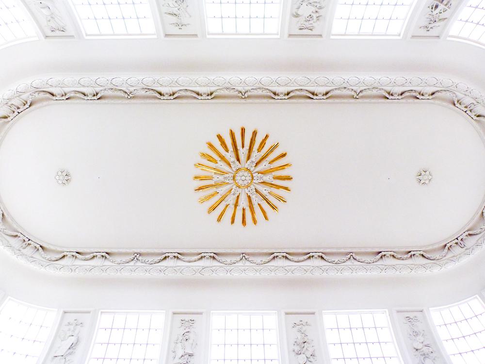 Teylers Museum Oval Room Ceiling
